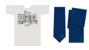 Ressun t-paita solmio ja huivi